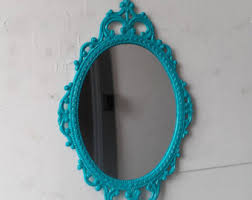 Wall Decor Mirror Home Accents Turquoise Wall Decor Etsy