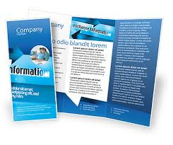 Informational Brochure Template information exchange brochure template design and layout