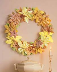 ribbon poinsettia wreath martha stewart