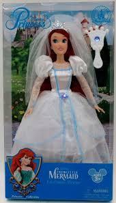 disney little mermaid ariel barbie style classic wedding dress