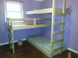 Build Loft Bed Ladder by Triple Bunk Bed