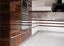 Kitchen Craft Cabinets Calgary Contemporary High Gloss Kitchen Cabinet Design Ideas Decor
