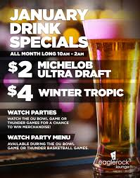 kickapoo casino january drink specials