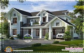 western style house plans kerala home design and floor plans western style house rendering