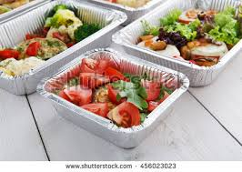 healthy food delivery diet concept take stock photo 455251489