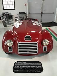 ferrari 125 s sport speed and style ferrari museum and balsamic vinegar tour