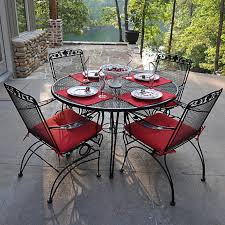 Refinishing Metal Patio Furniture - astonishing outdoor wrought iron patio furniture u2014 home designing