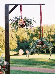 wedding arbor used 32 diy wedding arbors altars aisles diy