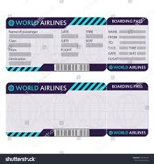 Boarding Pass Wedding Invitation Card Airline Tickets Boarding Pass Templates