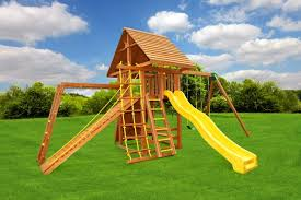 outdoor gorilla swing sets to keep children active and engaged in