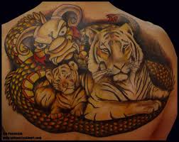 tiger family designs tattoos family