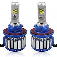 amazon led auto lights amazon com h4 hi lo led car lights super bright ip65 waterproof led