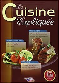 editions bpi cuisine la cuisine expliquée tous niveaux du cap au bts amazon co uk