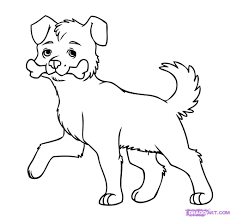 line drawing dogs free download clip art free clip art on