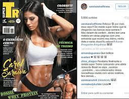 Excepcional Carol Saraiva estampa capa de revista e impressiona pela perfeição  &ZN73