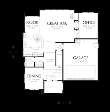 mascord house plan 22153 the norwood