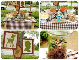 woodland creatures baby shower decorations breathtaking forest animal baby shower decorations 75 for baby
