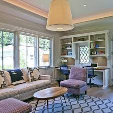 office living room room and office combo design ideas