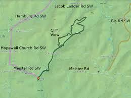 Map Of Lancaster Ohio by Christmas Rocks State Nature Preserve Trekohio