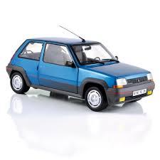 renault 5 turbo 1 renault 5 gt turbo 1985 bleu alpine 1 18 norev romeira modèles