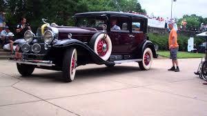 1930 cadillac 452 v16 town sedan part ii youtube