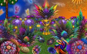 wallpaper floral art