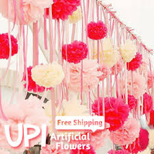 wedding home decor wholesale 200pcs 4inch free shipping tissue paper flowers ball