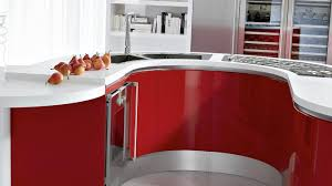 latest modular kitchen photos bold red kitchen cabinet teak