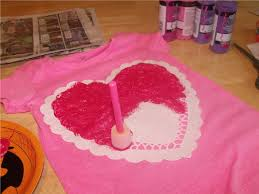 clever crafty cookin u0027 mama valentine craft doily heart t shirt