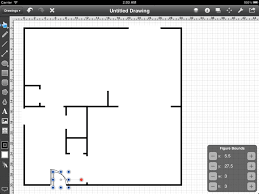 step 13 adding the doors touchdraw for ipad floorplan tutorial