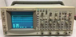 fluke pm3082 oscilloscope 100 mhz u2022 88 00 picclick