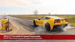 supercharged c7 corvette 2015 hpe700 supercharged c7 corvette a8 1 4 mile testing