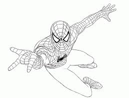 print free coloring pages spiderman coloring home