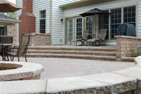 Concrete Patio With Pavers Concrete Paver Patios Maryland Md Concrete Pavers