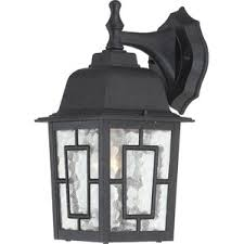 Outdoor Light Fixture With Outlet by Black Outdoor Wall Lighting You U0027ll Love Wayfair