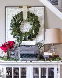 vignette home decor french industrial christmas vignette bless u0027er house