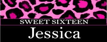Pink And Black Sweet 16 Decorations Sweet 16 Leopard Print Party Favors Sweet Sixteen Candy Bars