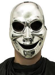 silver masks sinister ghost mask masks