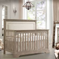 Oak Convertible Crib Ithaca Convertible Crib Sugar With Talc Panel And Nursery