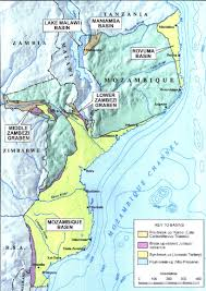 Mozambique Map Eni Makes New Gas Discovery In Mozambique Nogtec