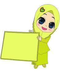 freebies doodle muslimah bunga hati freebies doodle kenyit2 hehe doodle muslimah