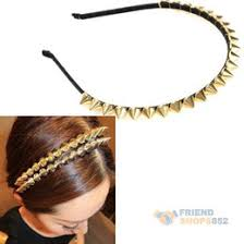 spiked headband gold spiked headband online gold spiked headband for sale