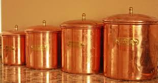 copper kitchen canister sets canisters astounding copper kitchen canisters glass kitchen