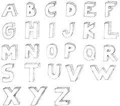 block lettering block style lettering alphabet u2013 aimcoach me