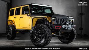 jeep kevlar jk wrangler front rally bumper short vpr 124 s