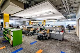 Open Floor Plan Office by Dla Architects A Modern And Open Office Design Dla Architects
