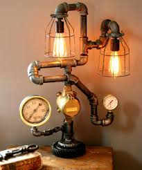 Ceiling Light Fixtures For Bathrooms by Bathroom Steampunk Decorating Ideas Marvelous Steampunk Lighting