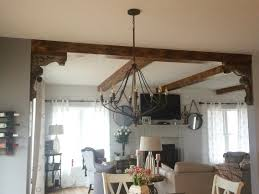 Kitchen Island With Corbels Maybe I Can Do Corbels And Wood Beams In The Kitchen Living Room