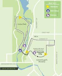 Irvine Map The Oz Run Route Maps