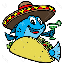 cartoon sombrero best hd fish taco cartoon stock vector library